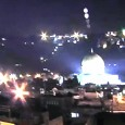 A UFO fleet was spotted over the Dome of the Rock shrine in Jerusalem on Fri., Oct. 5, 2012. It was recorded on video by someone identified only as AQ. The video shows multiple bright lights studding the skies above the temple. The lights seem to move and flicker without […]