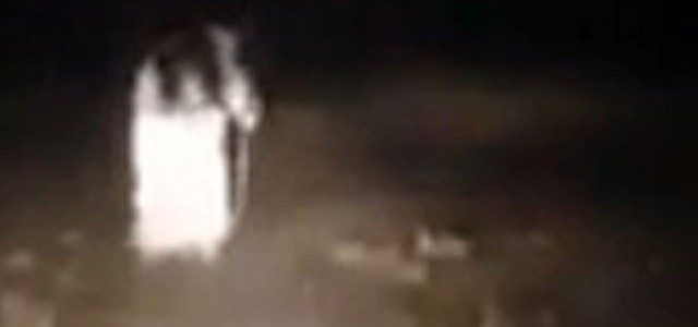 """Is this a ghost? Probably not… but the creepy footage of a supposed encounter with """"The Blackburn Ghost"""" in Blackburn, England, went viral over the weekend, racking up nearly half a million views by Sunday evening. The video, posted without explanation on Thursday, is taken from a car and shows […]"""