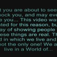 From the author of this video: WARNING: This video might shock you, and may even scare you! However this is not my reason for posting it. This video is about just what the title states. It's about Ghosts, Spirits, and Demons! This video shows clips that are (To the best […]