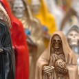 """ORIGINS The Santa Muerte also known as Santisima Muerte is the beloved goddess of death who's origins date to the Pre Hispanic period of Mexico. The Mexica knew her by another name MICTECACIHUATL """"Lady of the Land of the Dead"""" another spelling may be MICTLANTECIHUATL, she was believed to be […]"""
