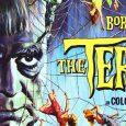 The Terror (1963) is a low budget American Vistascope horror film produced and directed by Roger Corman about a French soldier who finds a beautiful mysterious woman who turns out to be a ghost possessed by a witch. It is famous for being filmed on sets left over from other […]